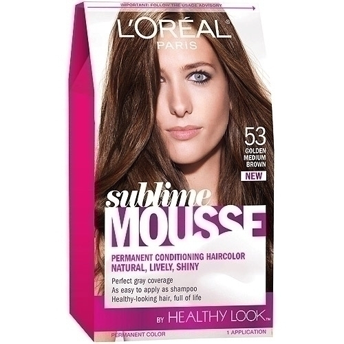 loreal hair color for gray hair